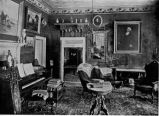 Campbell Mansion Artifacts; new parlor, 1909