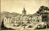 Old Main, Lithograph