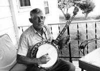 fretless banjos, Sutphin (talking)