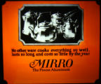 Mirro Cookware Advertisement