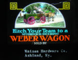 Weber Wagon Advertisement