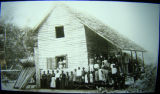 African-American church congregation