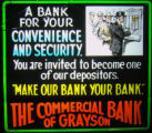 Commercial Bank of Grayson advertisement