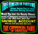 Finger of Fortune: Commercial Bank of Grayson