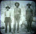 Been fishing, three native sons