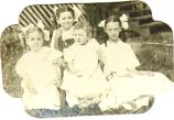 Alyce Horton with siblings