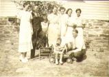 Part of Horton family after Papa Horton's marriage to Clarabel