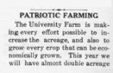 Patriotic farming / [unknown].  In Mountain herald / Lincoln Memorial University.