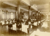 Four Seasons interior dining hall