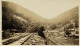 [View of Cumberland Gap and the railroad line] / by [unknown].