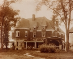 [Home of Alexander A. Arthur and family at Harrogate, Tennessee] / [unknown].