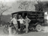 Students of the Smith-Hughes department of vocational agriculture of Lincoln Memorial University...