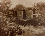 [Train wreck of the Knoxville, Cumberland Gap and Louisville Railroad in 1889] / [unknown].