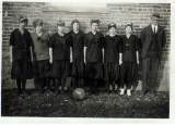 Women's basketball team, 1916