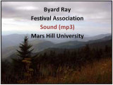 Byard Ray Festival Association Taped Performances (Audio)