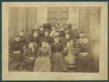 Girls at Milligan College, ca. 1891
