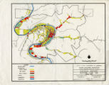 Existing Land Use, Urban Area, Pikeville, KY map