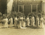 May Queen Court 1931