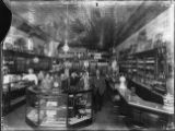 Interior of Costellow Drug Store in Barbourville, KY about 1910