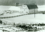The Dairy Barn in Winter