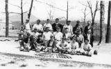 Baseball Team on Asheville Farm School campus