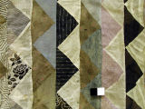 [Quilt, Slashed Diagonal Patchwork]