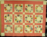 [Quilt, Dresden Plate, Compound View]