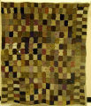 [Quilt, Brick Style Patchwork, Compound View]