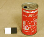 [Hillbilly Beverages Strawberry Soda Can, Compound View]