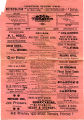 Program for Star Theater, Martins Ferry Ohio, January 26, 1901.