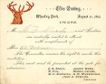 Elks Outing, Wheeling Park, 1893.
