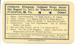 Orchestral program, Oakland Hotel, Saturday August 10, 1901