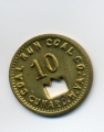 Ten cent scrip from Coal Run Coal Company